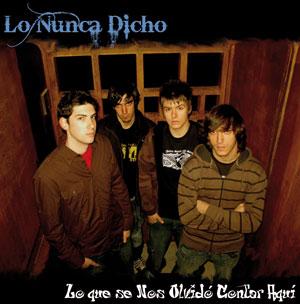 """Lo nunca dicho - cd """"Lo que se nos olvido contar aqui"""" - FyN-31 - Flor y Nata Records"""