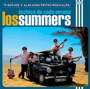"""Los Summers - cd """"La chica de cada verano"""" - FyN-29 - Flor y Nata Records"""